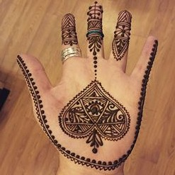 Beautiful Henna Design by Victoria